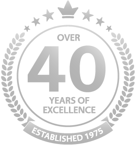 OVER 40 YEARS OF EXCELLENCE ESTABLISHED 1975